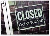 Out of Business Sign 7.22.2014