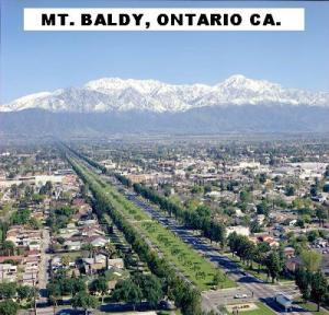 MT. BALDY, ONTARIO CA